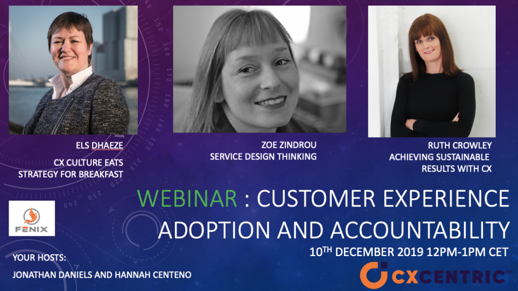 Customer Experience Adoption and Accountability